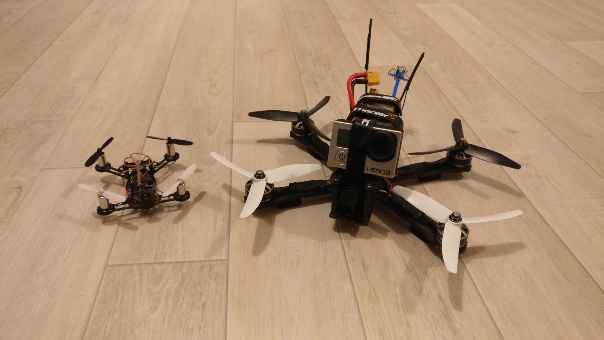 QX95 et QAVR côte à côte