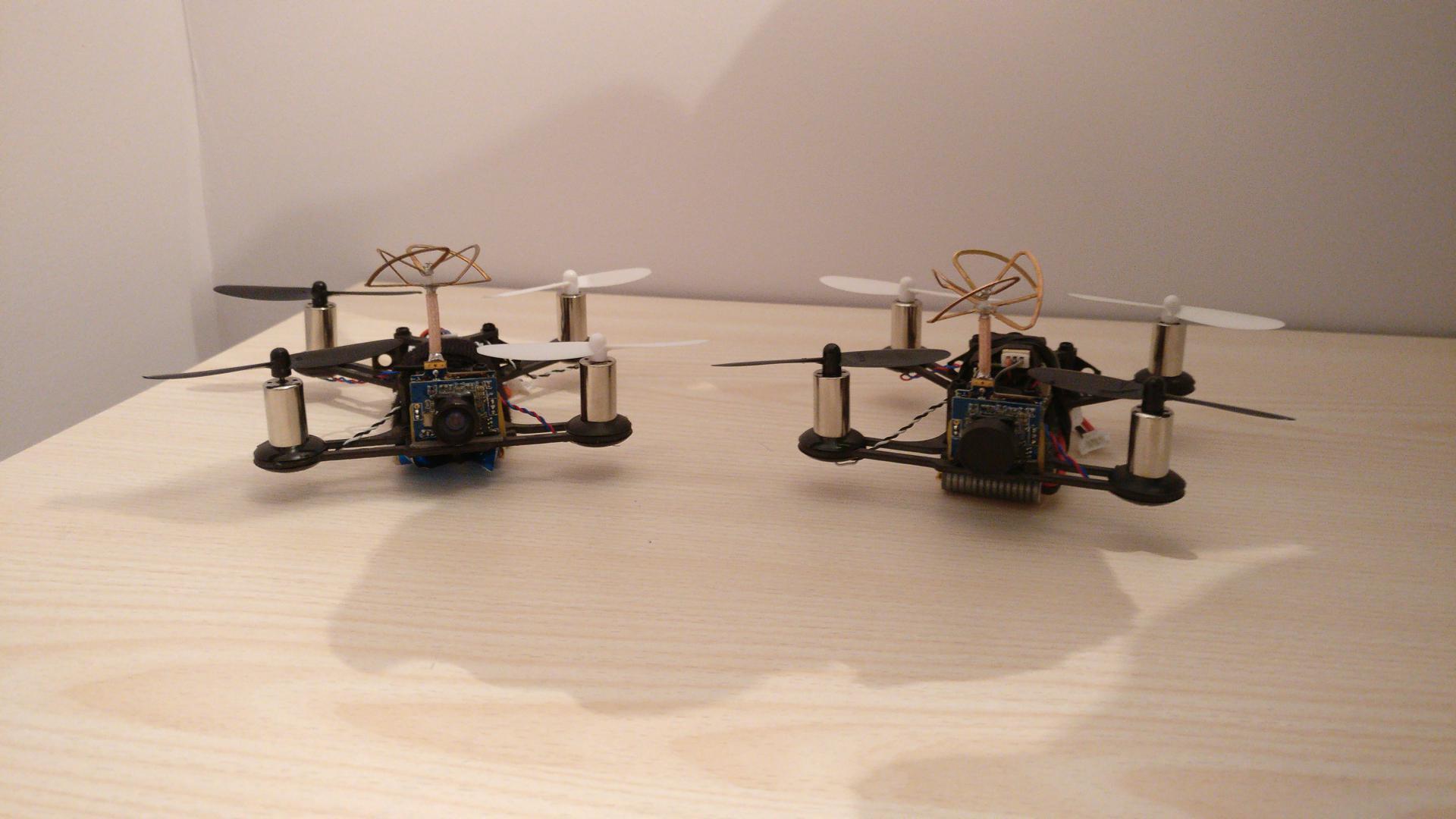 2 QX95, l'un en frsky et l'autre en flysky converti en DSM2