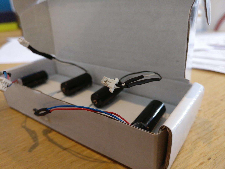 Racestar 8520 - connectors